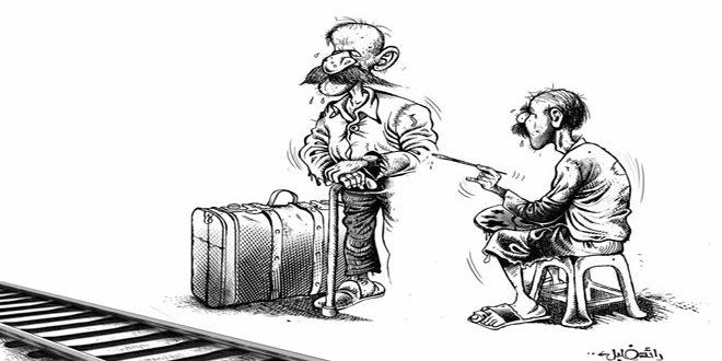 Le caricaturiste syrien Raëd Khalil remporte le prix international de la Poggia Academy en Italie