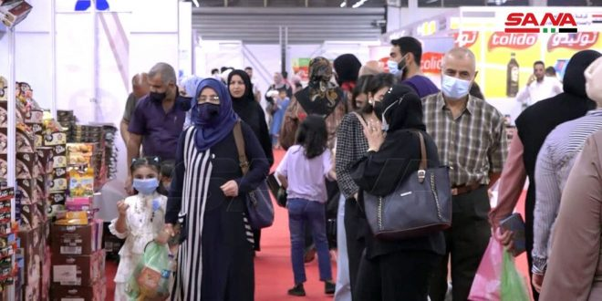 Grand afflux au salon « Fabriqué en Syrie » dans la capitale irakienne Bagdad