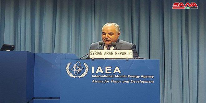 L'ambassadeur Khadour : Les membres de l'AIEA exploitent l'application de l'accord de garanties en Syrie pour servir leurs agendas politiques