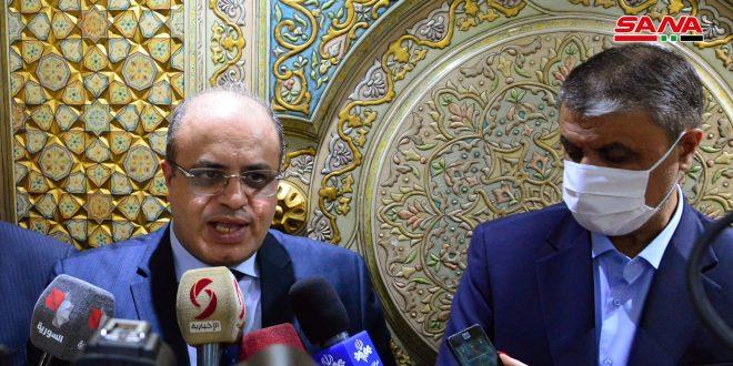 Khalil au correspondant de SANA: Les réunions syro-jordaniennes ont abouti à un accord sur des mesures servant les questions bilatérales
