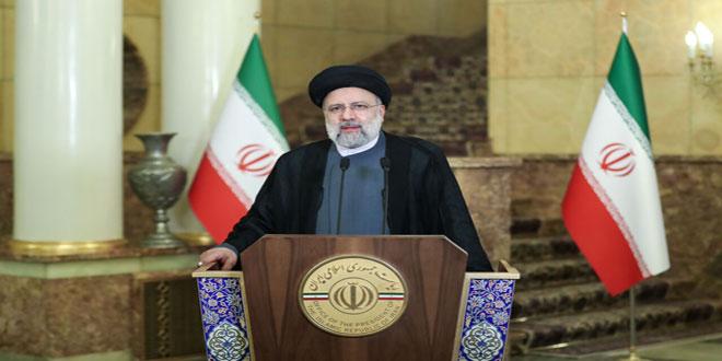 Le président iranien affirme que la présence de l'occupation américaine dans des territoires syriens et irakiens entrave le progrès des peuples de la région
