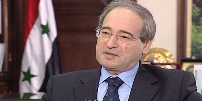 אלמקדאד הדגיש כי הכרזת וושנגטון נועדה להאריך את המשבר בסוריה