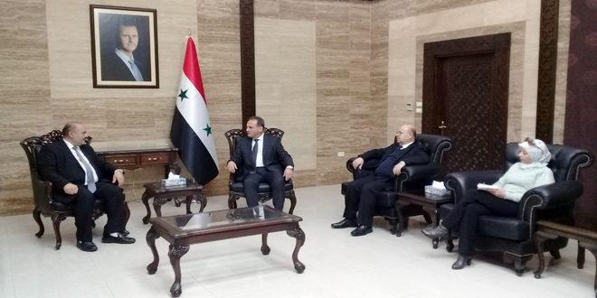 דיוני שיתוף פעולה רפואי בין סוריה ללבנון