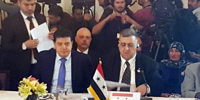 בהשתתפות סורית עבודות וועידת ארגון שיתוף הפעולה האסלמי התחילו בטהרן