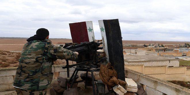 יחידות הצבא ממשיכות בהתקדמות שלהן בריף חאלב הדרומי
