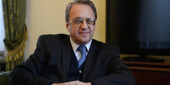 בוגדנוב : ישנו צורך בהמשך התהליך המדיני בסוריה בהסתמך על אסטנה וסוצ'י