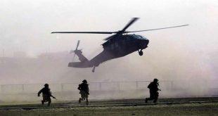 מסוקי קואליצית וושנגטון מפנים מפקדים מדאעש בדרום מזרח אלחסקה