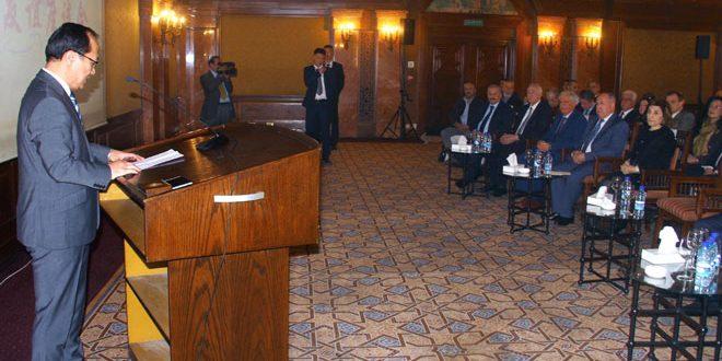 מפגש הידידות הסורית-סינית: תיאום גבוה בין שתי במדינות בתחום חידוש הבנייה