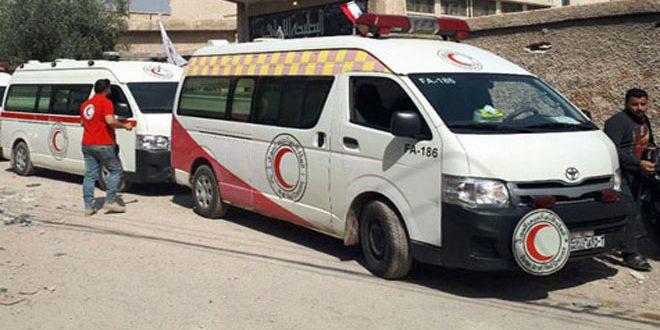 הצבא ממשיך להבטיח את מעבר אל-מו'ארד אל-מאיאה שבחרסתא, והטרוריסטים יורים אש לעבר האזרחים הנצורים