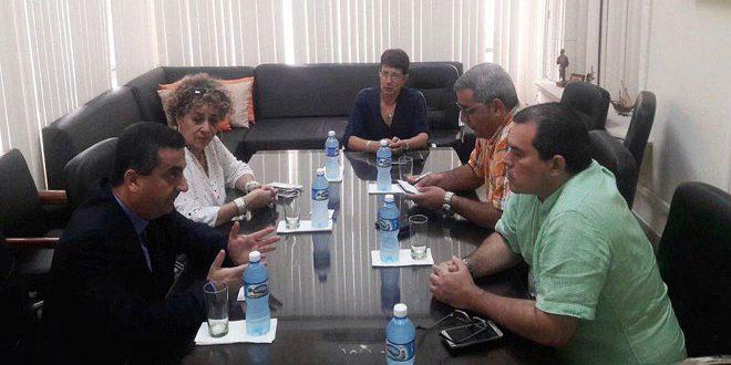 """יו""""ר סוכנות פרנסא לאתינא הקובית לידיעות הדגיש חשיבות חזוק שתוף הפעולה עם סוכנות סאנא"""