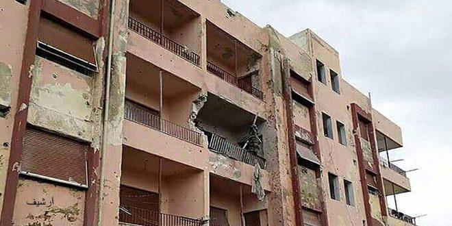 קבוצות הטרור תקפו את שכונות עיר אל-בעת' שבמחוז אל-קונייטרה בפגזים