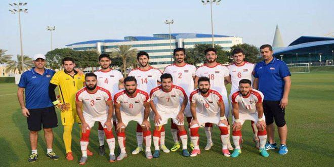 נבחרת סוריה האולומפית לכדורגל התגברה על מקבילתה של האמיריות הערביות המאוחדות, במשחקי אסיא