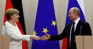 מרקל תדון עם פוטין במשבר בסוריה