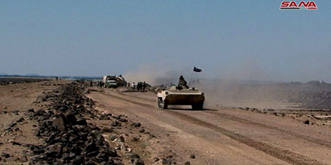 הצבא ממשיך את הפעילות שלו נגד דאעש במדבר אל-סואדאא