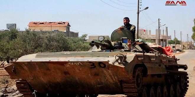 הצבא השמיד רכוזים וקנים של טרוריטסים בפריפריה הדרומית של אדלב