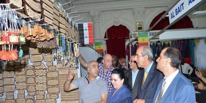 התוצרת הסורית ביריד סנגאלי