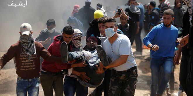 תושבים פלסטינים נפצעו ולקו בחנק בבית לחם