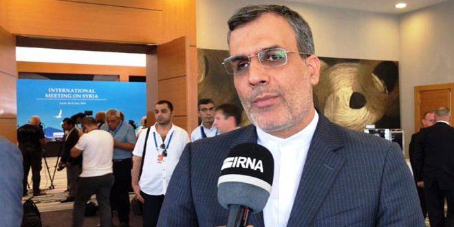 ג'אברי אנסארי נדון במוסקבה בשאלות האזור ובמשבר בסוריה