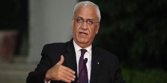עריקאת : הענקת סמכויות חוקיות נוספות לפלסטן מוכיחה כי הממשל האמריקאי וישראל הם בצד הטועה של ההיסטוריה