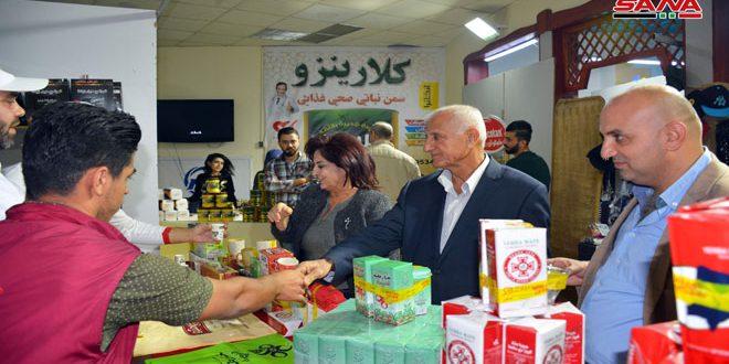 """פתיחת פסטיבל לאטקיה לשיווק חודשי """" מתעשייה סורית """""""