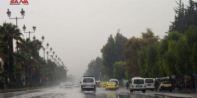 גשמיים עזים ירדו ברוב האזורים