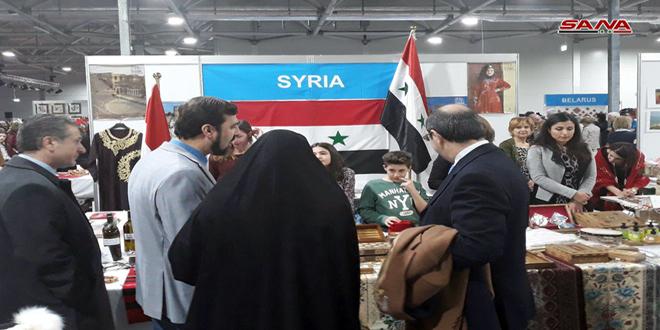 """זרימה רבה לביתן הסורי בבזאר השנתי הבינ""""ל ה-50 לעסקים של צדקה בווינה"""