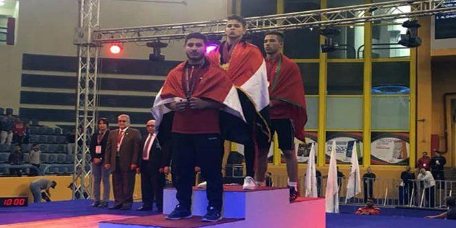 36 מדליות לסוריה באליפות הרמת משקלות שהתקיימה במצרים
