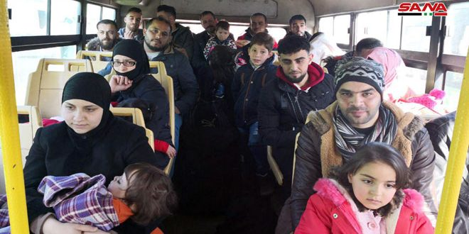 קבוצה חדשה של מהגרים סורים חזרה מלבנון