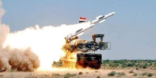 אמצעי ההגנה האווירית שלנו התמודדו ביעילות עם תוקפנות אווירית ישראלית באזור הדרומי