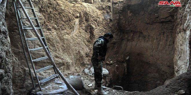 מנהרה באורך 600 מתרים נתגלתה בדאריא
