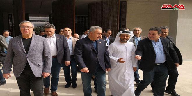 משלחת של אנשי עסקים סורים בדקה את נסיון ההשקעה בעיר מסדר בנסיכויות הערביות המאוחדות