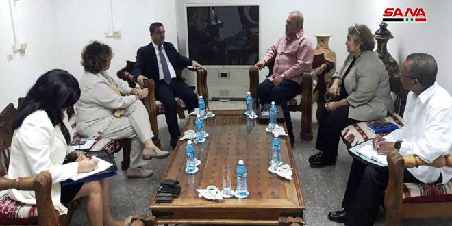 שר התיירות הקובני הדגיש את עמידתה של ארצו לימינה של סוריה