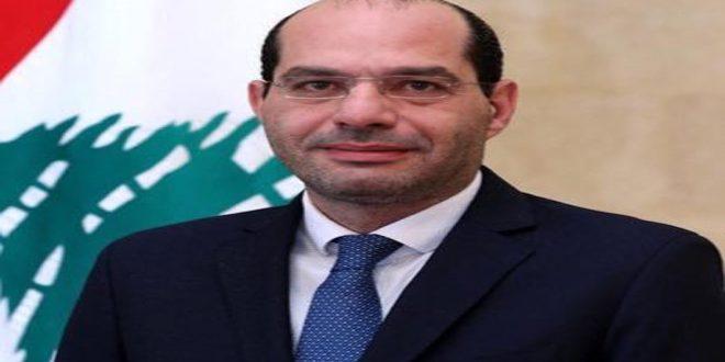 שר לבנוני : סוריה השער של לבנון מבחינת היצוא