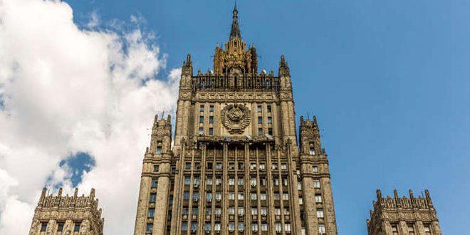 משרד החוץ הרוסי הדגיש כי וושינגטון משתמשת בפרובוקציה של הנשק הכימי לשמור את נוכחותה הצבאית בסוריה
