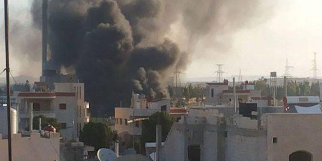 3 אזרחים נפצעו בהתקפה שבצעו הקבוצות הטרוריסטיות נגד תחנת חשמל מחרדה, וכמה עיירות בפרבר חמא הצפוני
