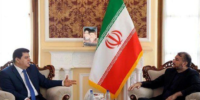 עבדוללהיאן הדגיש את חשיבות חיזוק היחסים האסטרטיגיים בין איראן לסוריה