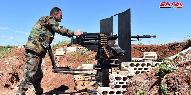 הצבא חיסל קבוצות טרוריסטיות בפרבר חמא הצפוני