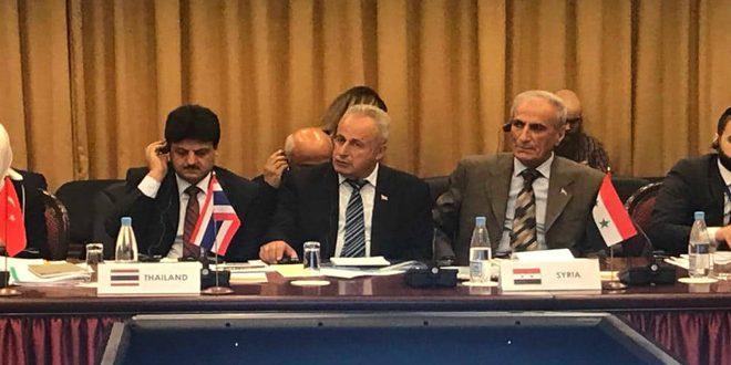 משלחת מטעם מועצת העם הצטרפה לישיבת הוועדה הקבועה של עניינים כלכליים ופיתוח מתמיד ברוסיה