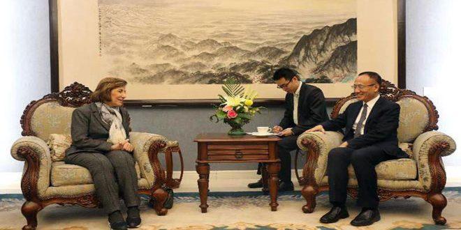 סגן שר החוץ הסיני :עמדת סין כלפי סוריה לא השתנתה מעולם