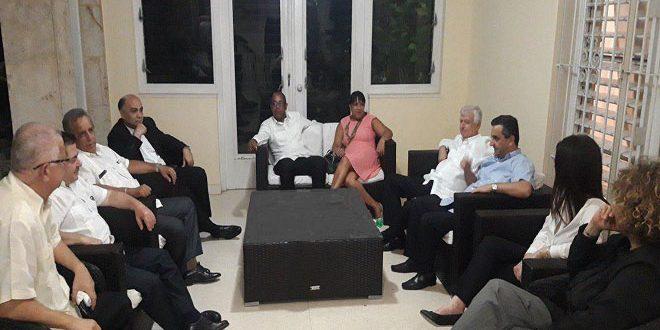 קובה הדגישה את תמיכתה בסוריה מול הטרור