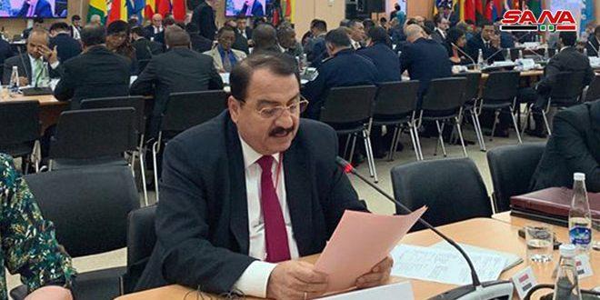 השגריר חדאד : האיומים המעורבים הפכו לסכנה על ביטחון ויציבות המדינות