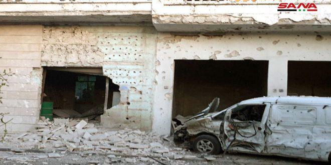 הקבוצות הטרוריסטיות תקפו את עיר מחרדה בפרבר חמא הצפוני