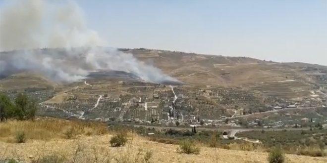 """משרד החוץ הפלסטיני העלאת שדות הפלסטינים באש על ידי המתנחלים היא פשע שמצריך התערבות בינ""""ל דחופה"""