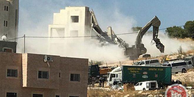 חזית העבודה האסלמית בלבנון מגנה את פשעי הכיבוש הישראלי בעיר אל-קודס הכבושה