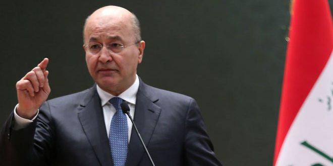עיראק מחדשת תמיכתה בעם הפלסטיני במאבקו להגשים פתרון צודק וכולל לשאלתו