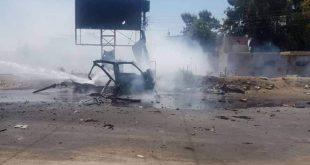 שני אזרחים נפצעו מפיגוע טרור במכונית תופת בשכונת ע'ו'יראן שבעיר אלחסקה