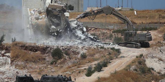 המפלגה הקומונסתית סלובקית הדגישה כי הרס הבתים הפלסטינים פשע מלחמה