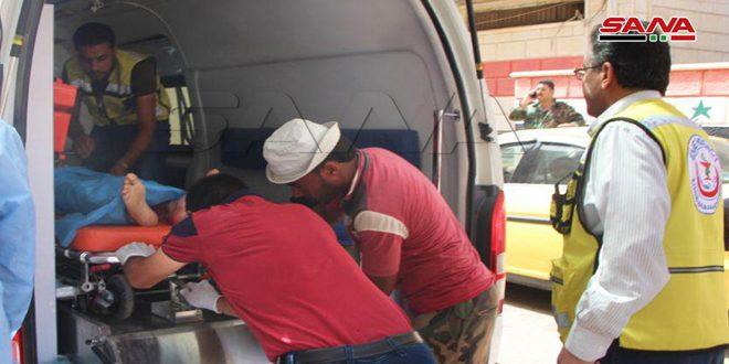 כלי רכב צבאי הותקף על ידי טרוריסטים בפרבר דרעא