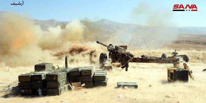 לרגל הניצחון על הטרור באלקלמון המערבי… הצבא ממשיך בניצחונותיו בפריפריות חמא ואידליב