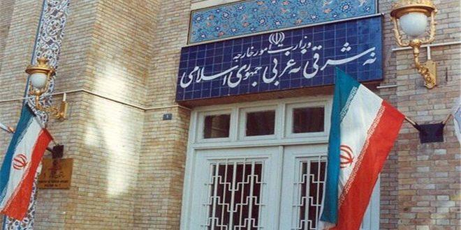 משרד החוץ האיראני: הצהרות האמריקנים בקשר להקמת מה שמכונה אזור בטחוני הן פרובוקטיביות